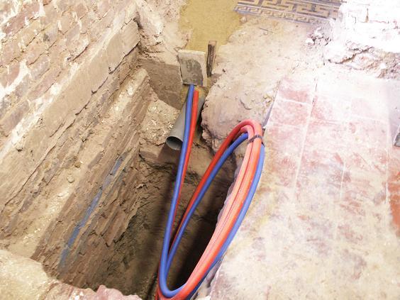 La maison des duchatelle le puits canadien en cours - Tuyau pour puit canadien ...